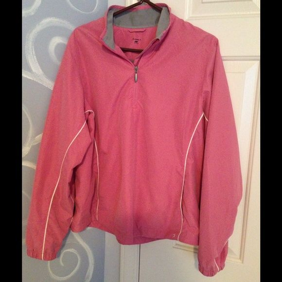 🌷🐝SALE🌺🐛Pullover jacket This is a super soft  light jacket with a zipper in the prettiest dusty pink color. Grey interior. Great for wearing to the gym, walking the dog, or just running errands. Jackets & Coats