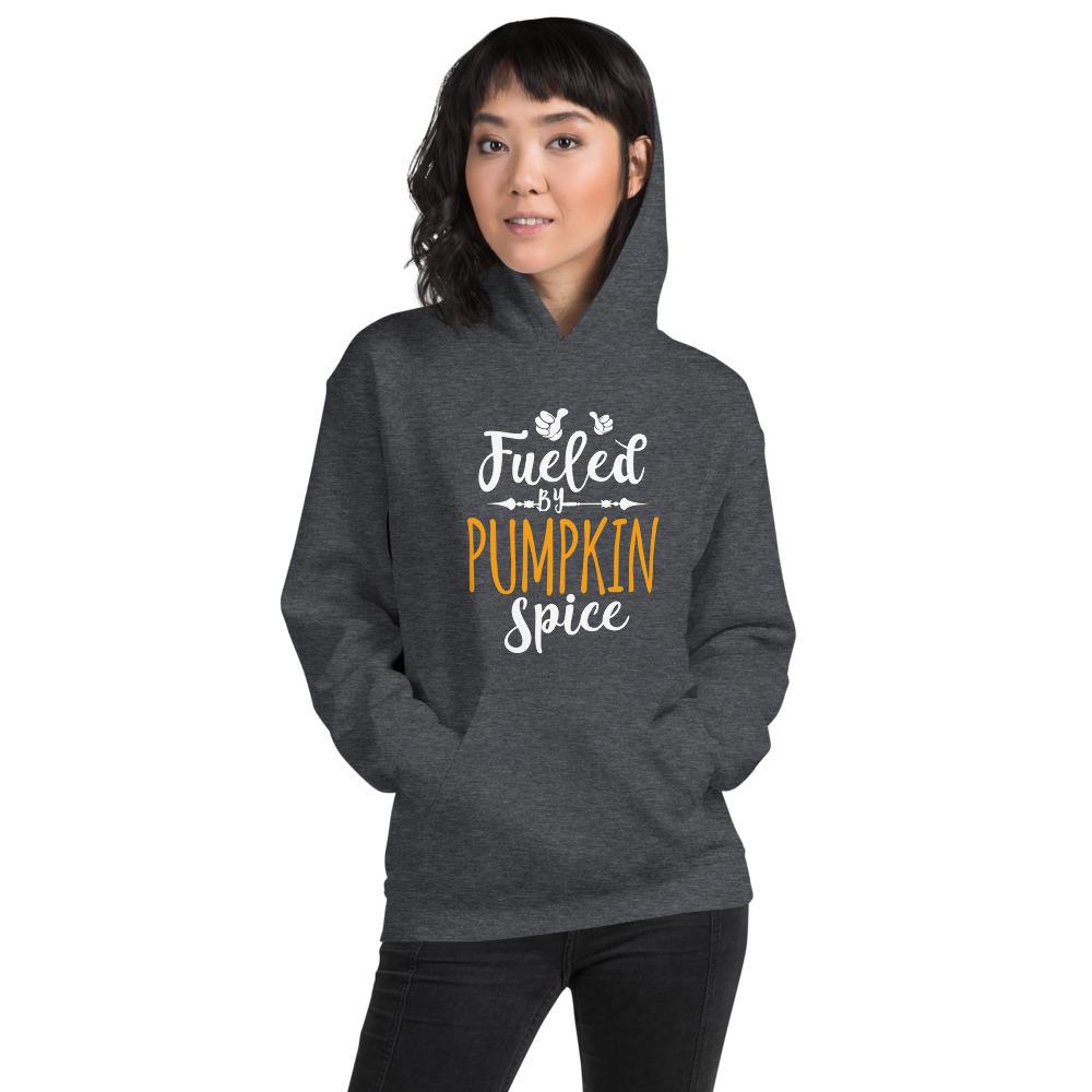 Fueled By Pumpkin Spice Hooded Sweatshirt Hoodies