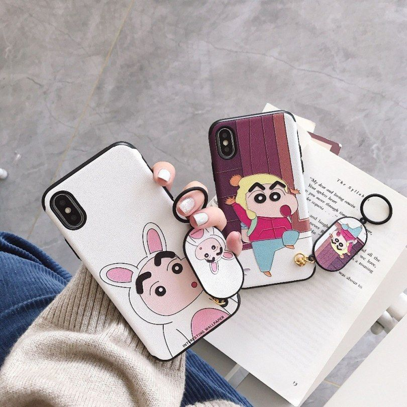 Cartoon 3d Relief Crayon Shin Chan Cover Case For Iphone Xs Max Xr 6s 6plus 7plus 8 8plus X Silk Hard Back Phone Case Soft Frame Friends Wallpaper Hd Funny Iphone