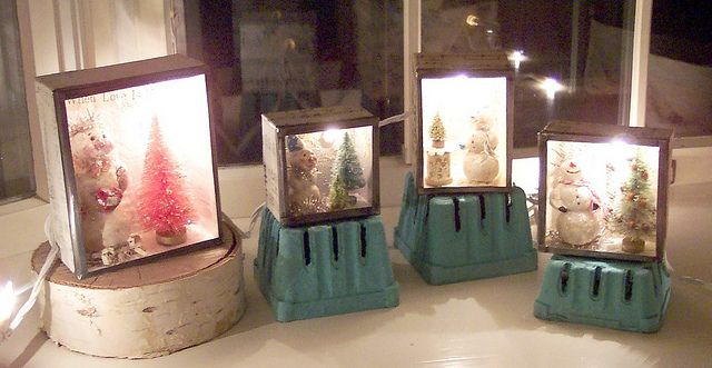 Snow and Light Boxes | Flickr - Photo Sharing!