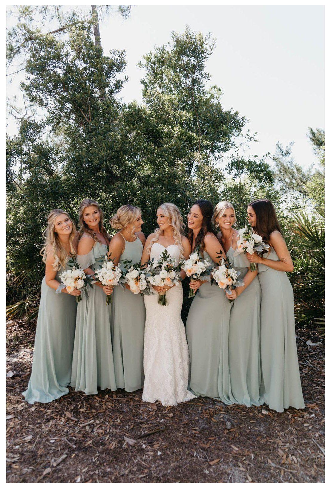 Spring Green Bridesmaid Dresses
