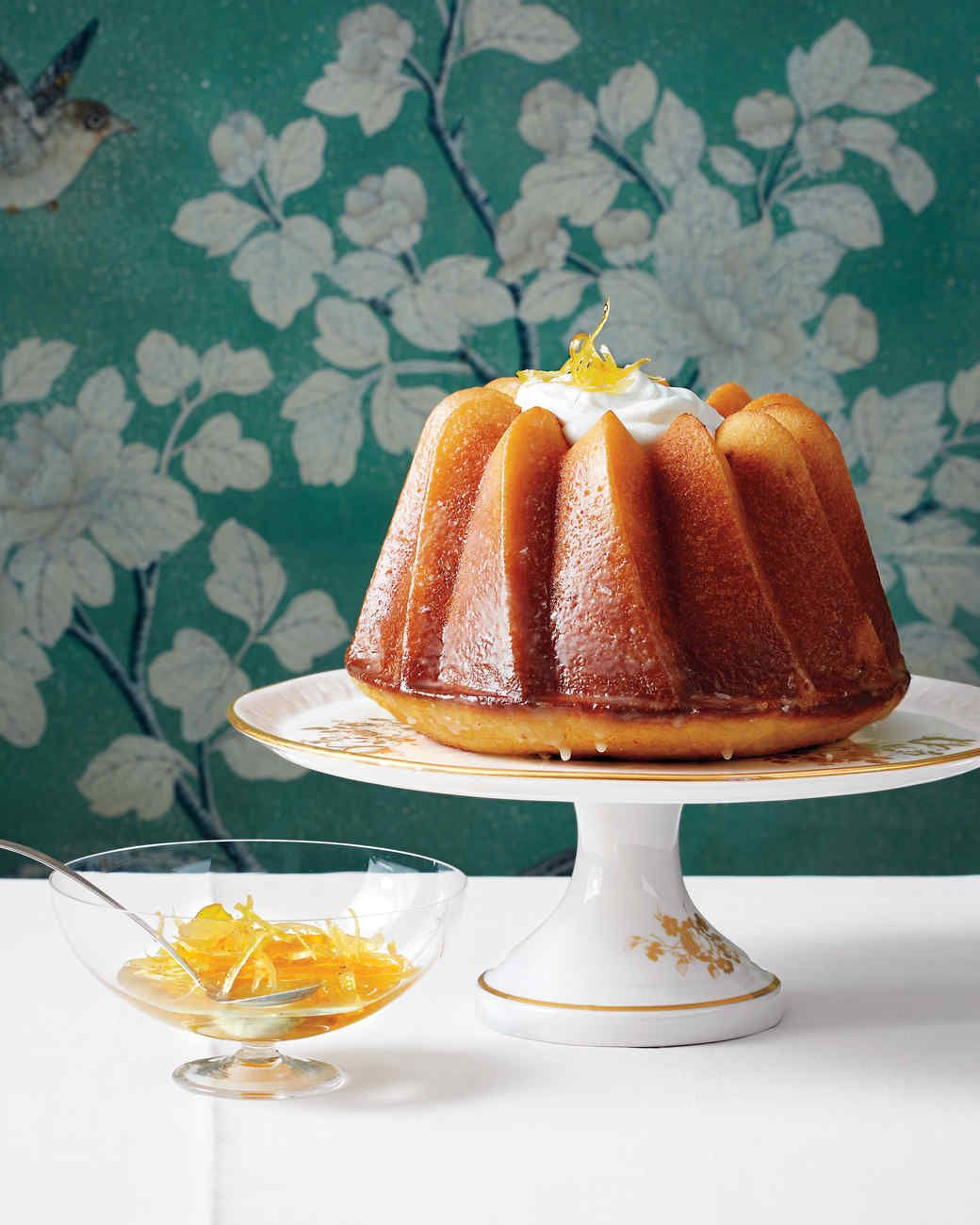 Triple-Citrus Bundt Cake | Rezept | Bundt Pan Ideas | Pinterest ...