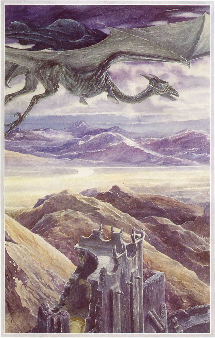 Fall Harry Potter Wallpaper The Lord Of The Rings Alan Lee Art Nazgul In 2019