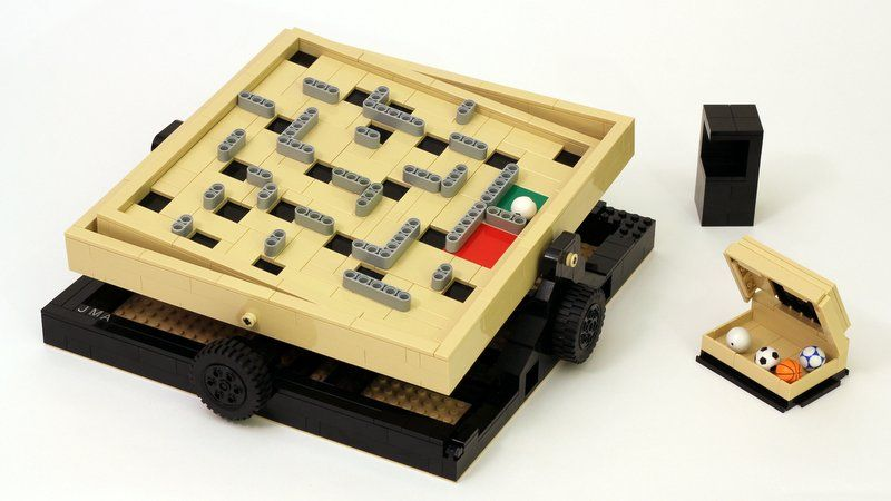 LEGO Ideas - Labyrinth Marble Maze | Lego | Pinterest | Marble maze ...