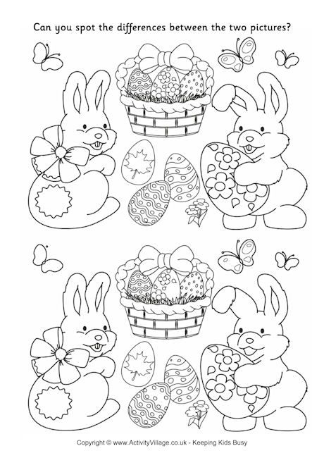 Free Printable Easter Worksheet For Kids Crafts And Worksheets For Preschool Toddler And Kindergarten Easter Worksheets Easter Printables Free Easter Puzzles