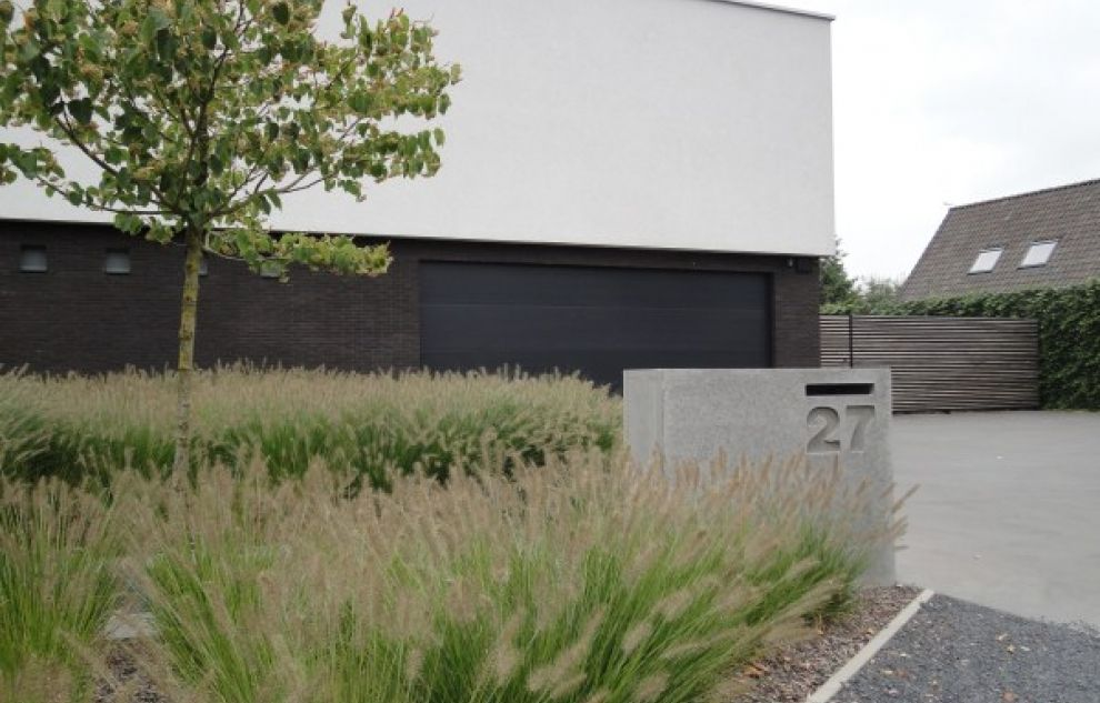 Pin van marloes wiewauters op tuin pinterest zoeken google en tuin - Landscaping modern huis ...