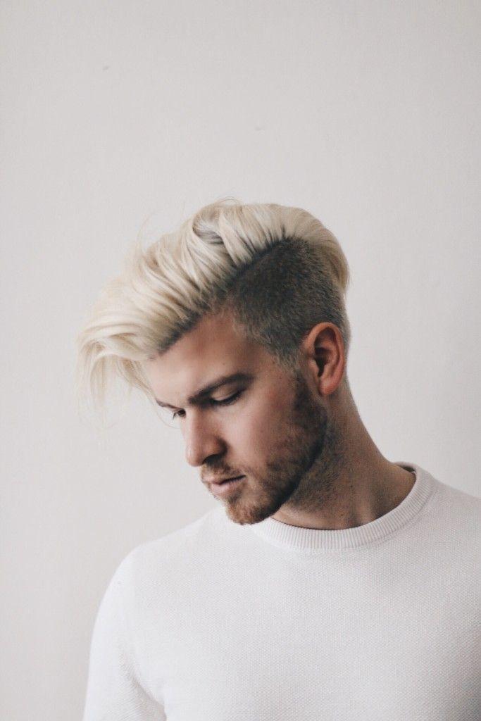 Pin By Jeff Couick On Haircuts Bleached Hair Men Men Hair Color Bleach Blonde Hair