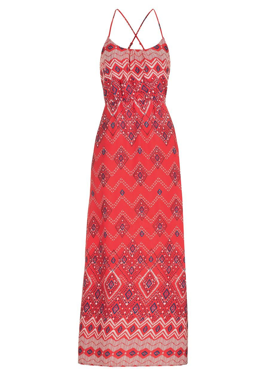 Maxi dress in ethnic print be your own kind of beautiful