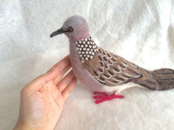 #needlefelt #spotteddove #bird