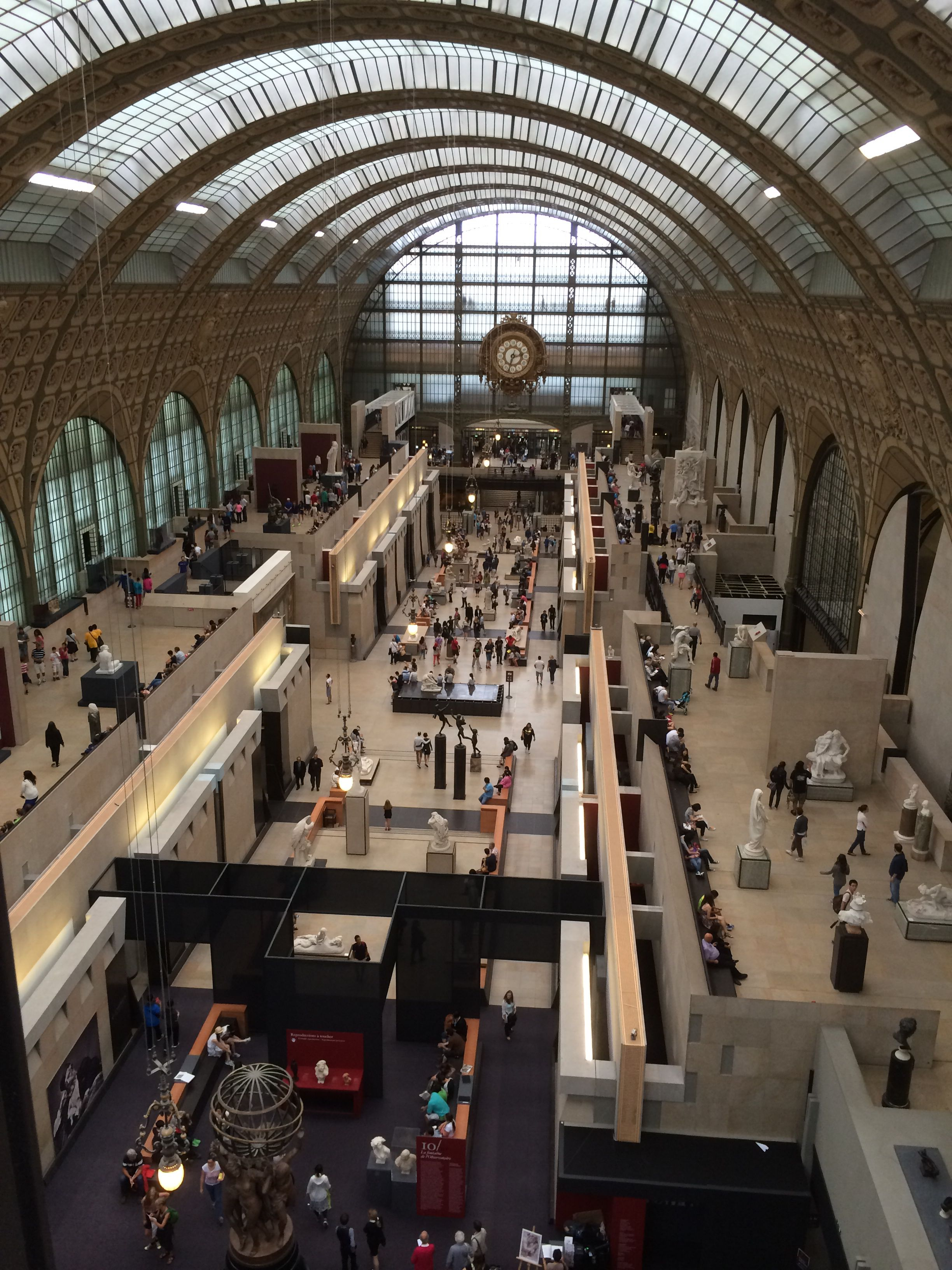 Musée d'Orsay (Interior) #france #paris #travel #museums #art #museedorsay #architecture