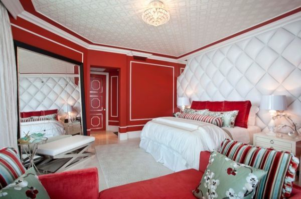 Bedroom Designs That Add Glamor is part of Big bedroom Red - If you like a touch of glamor in your home, then the best place to evoke it is in the bedroom  Glamorous bedrooms come in many forms and should express your personality  Whether you like to inhabit a fantasy realm or hark back to the golden era of Hollywood, add a touch of glamorous décor