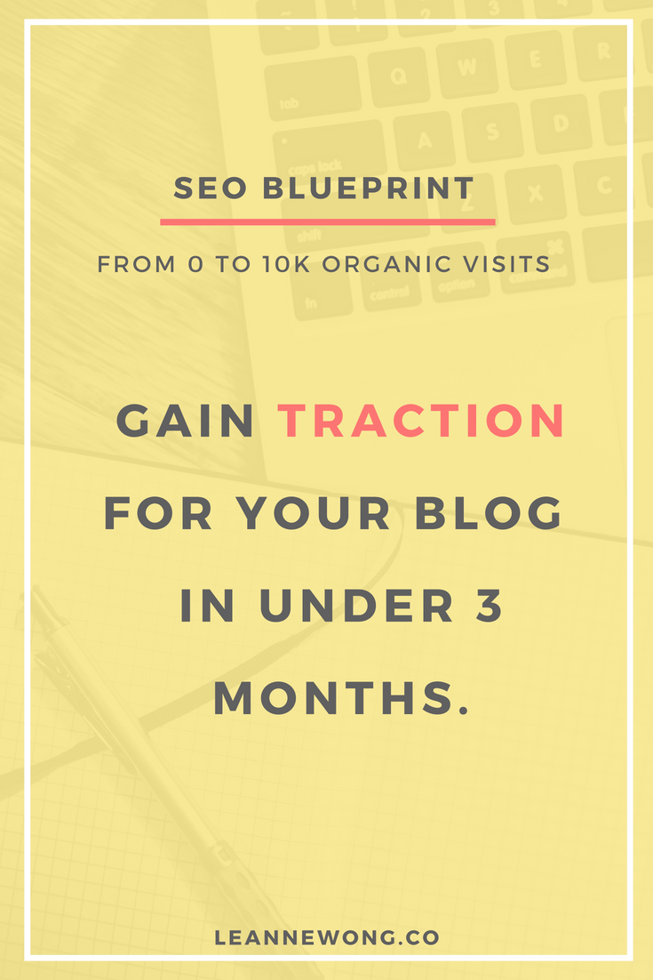 Seo blueprint 0 to 10k pinterest online business seo and factors if you want to make the best use of seo for your blog online business malvernweather Gallery
