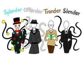Slendy Family (mini version) -2- by CreepyGreamArt on