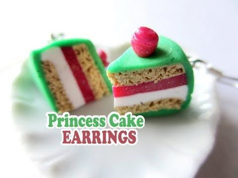 how to: miniature Princess cake slices