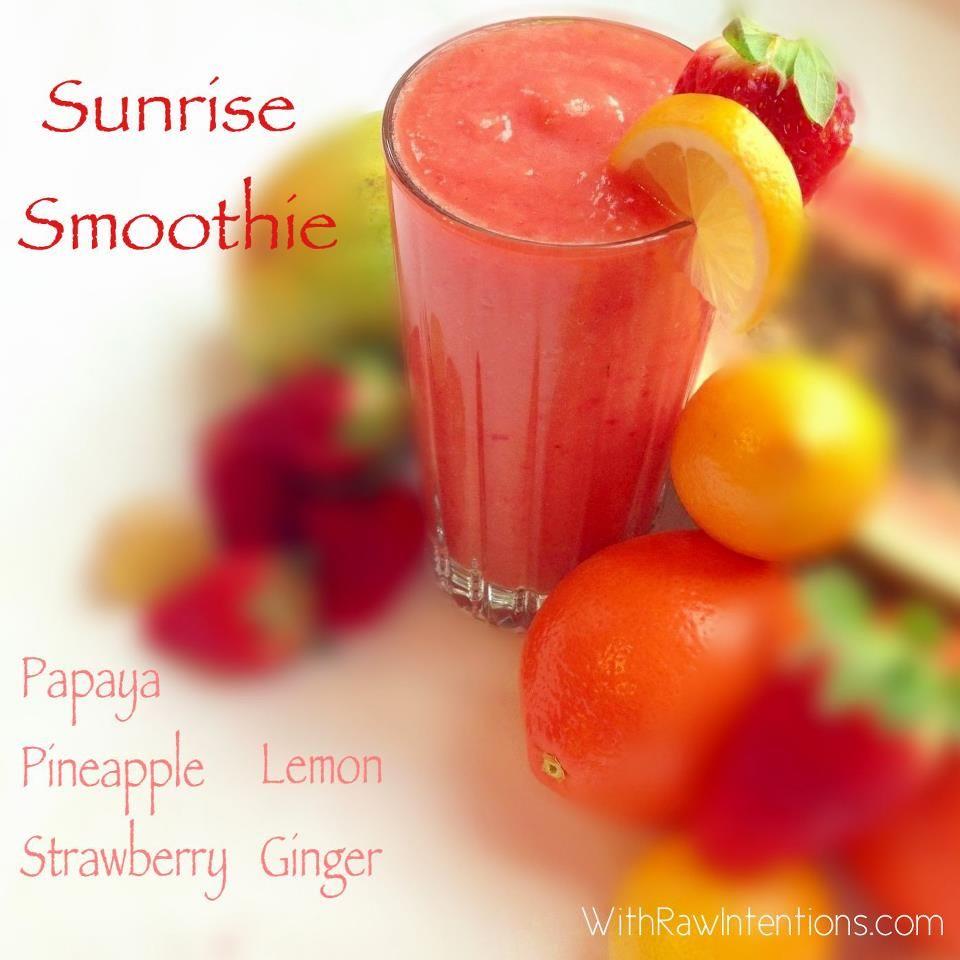 papaya pineapple, strawberry, lemon, ginger | I'll Drink To That