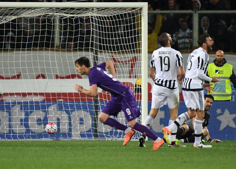 Fiorentina-Juventus, il film della partita
