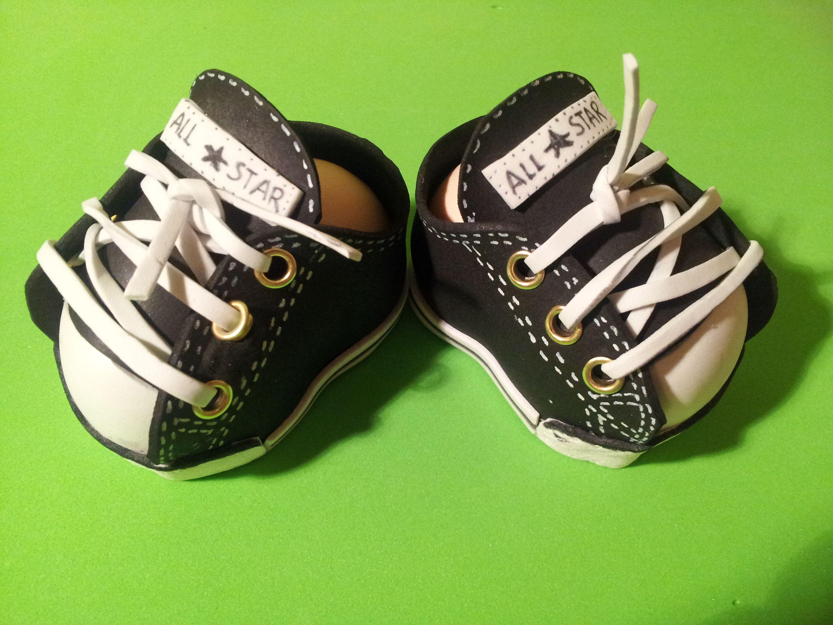 Zapatos para fofucha. Zapatilla converse. | gomma crepla