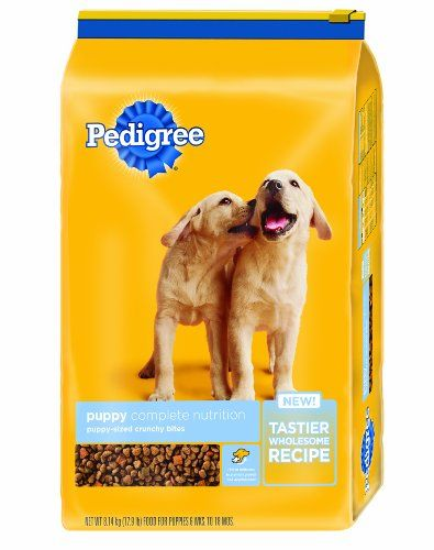 Pedigree Puppy Complete Nutrition Dry Dog Food 16 3 Lb Pedigree