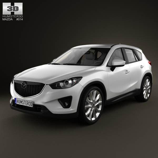 Price Of New Mazda Cx 5: Mazda CX-5 2012 3d Model From Humster3d.com. Price: $75