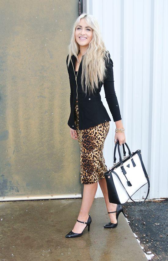 CARA LOREN: Dressed Up Leopard