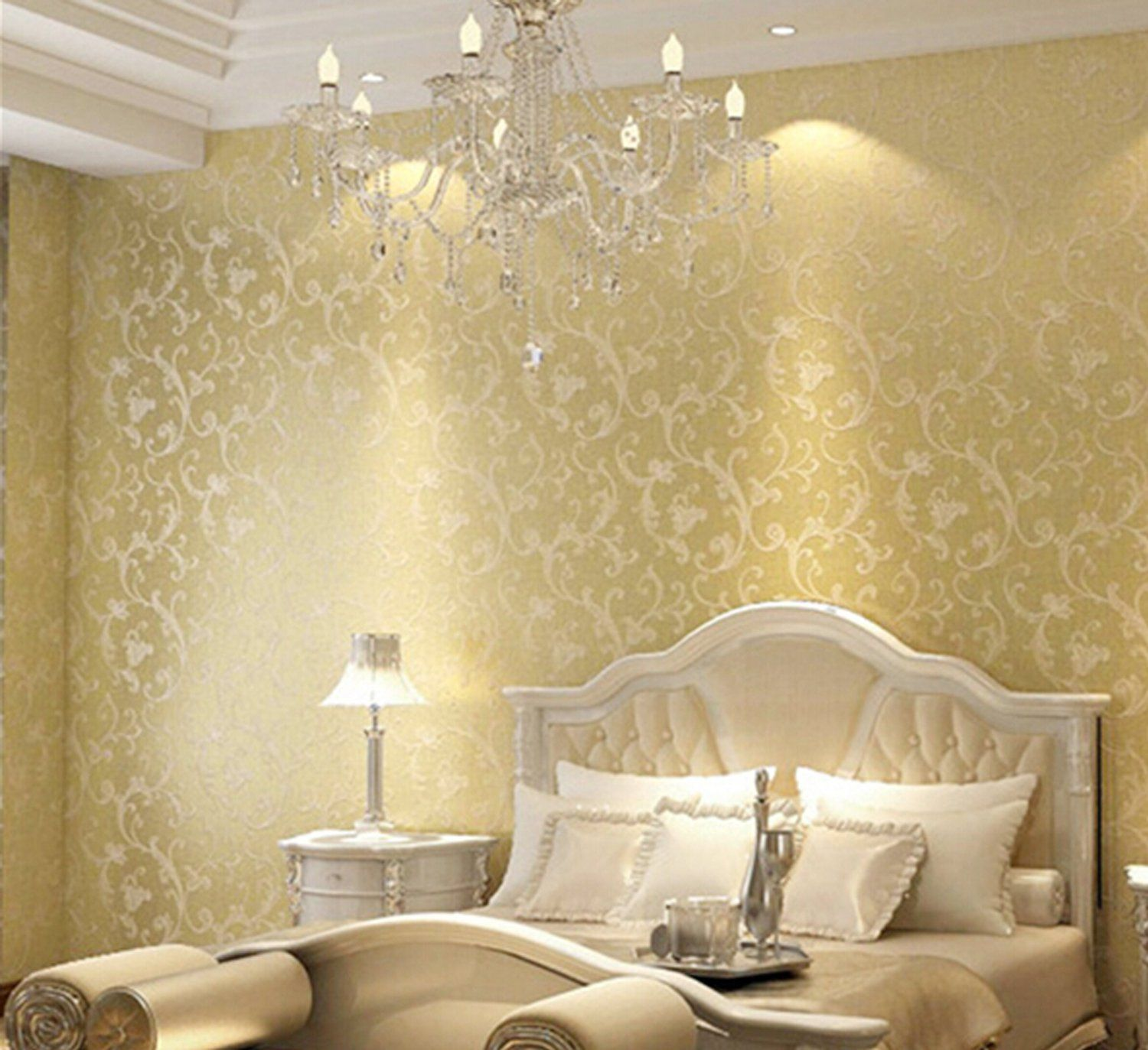 NuoYa005 Acanthus Non-woven Wallpaper European Style Wallpaper ...
