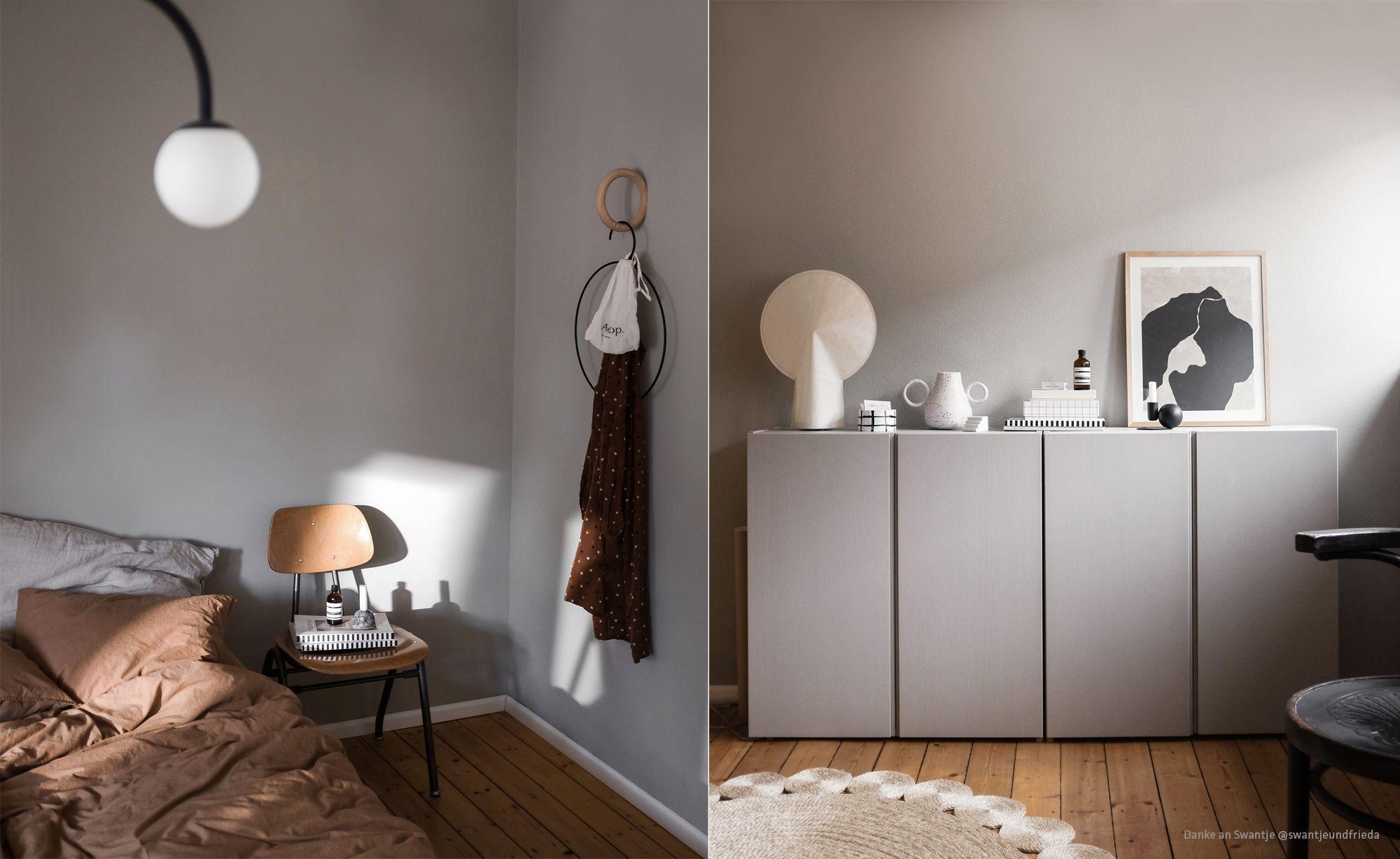 Wandfarben In Taupe Von Kolorat I Farben Online Bestellen Wandfarbe Taupe Wandfarbe Wandfarbe Grau