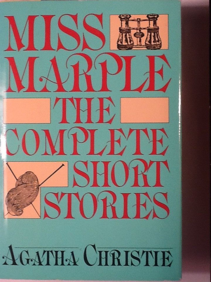 Miss Marple The Complete Short Stories Agatha Christie Short Stories Mystery Writing