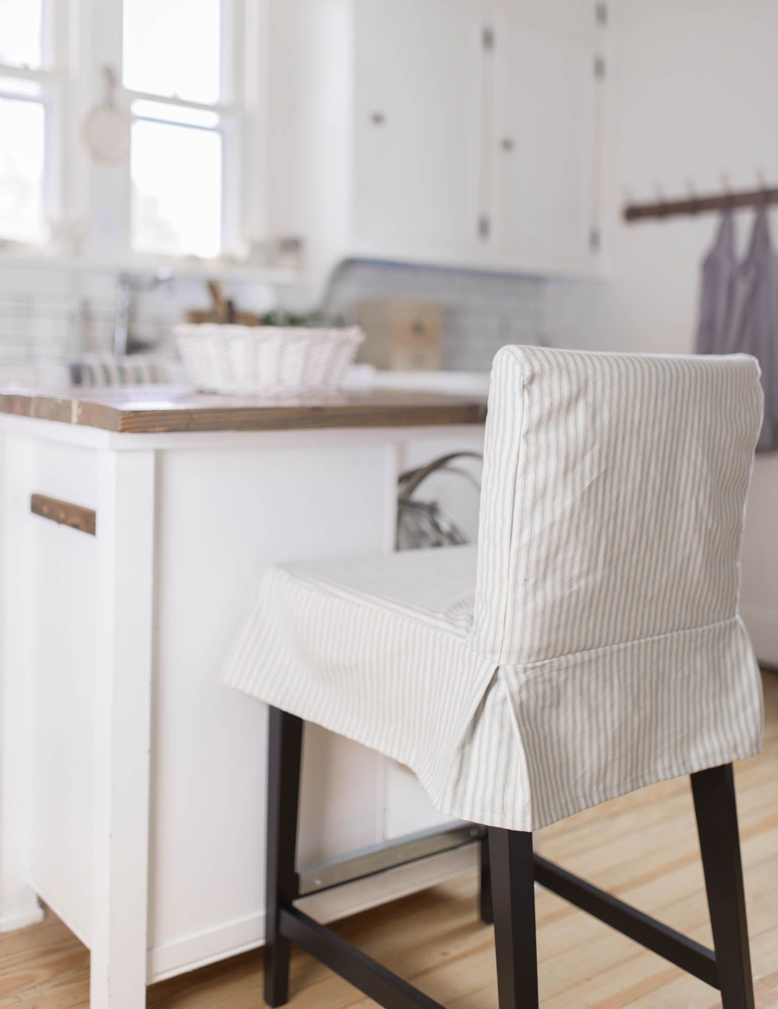 Learn How To Sew A Parsons Chair Slipcover For The Ikea Henriksdal