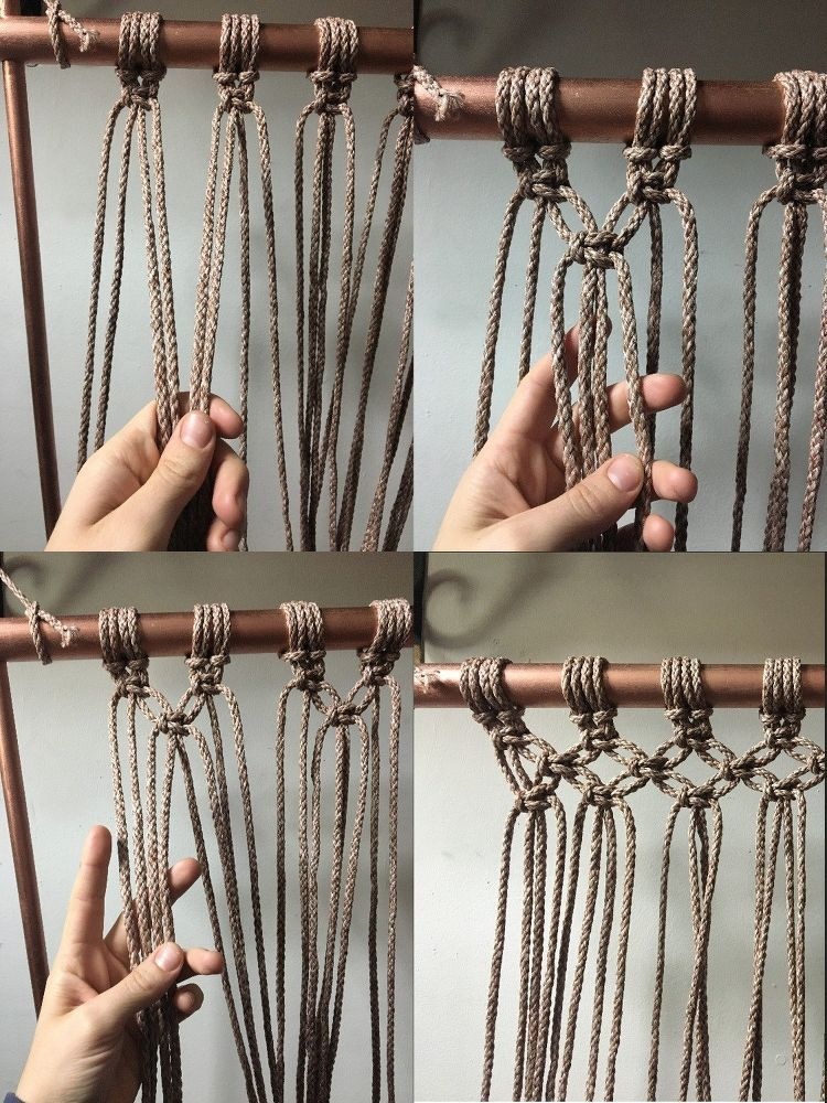 How To Make A Hanging Macrame Chair Diy Rope Things