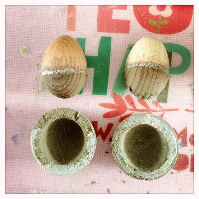Eierbecher Beton eierbecher aus beton diy anleitung egg cups clay and craft
