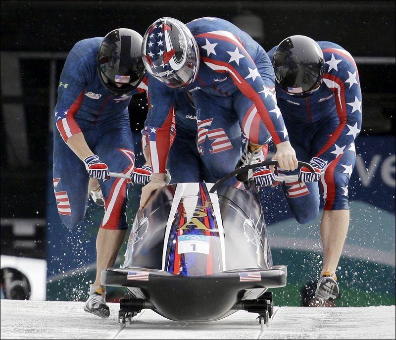 US men's bobsled team Winter olympics 2014, Bobsled team