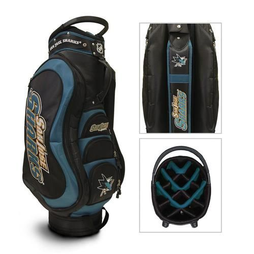 San Jose Sharks Medalist Golf Bag - Cart Bag