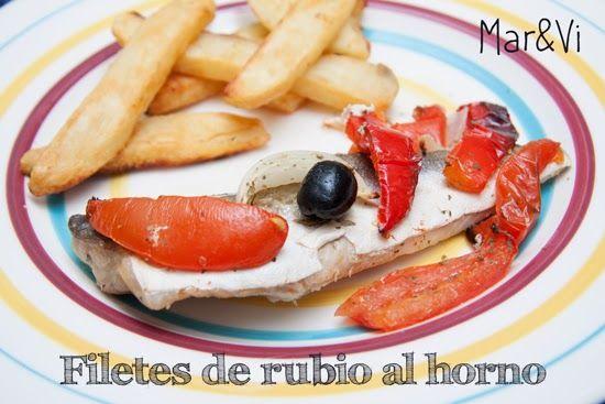 Mar&Vi Creative Studio - España: Hoy cocino yo: Rubio al horno - una receta fácil