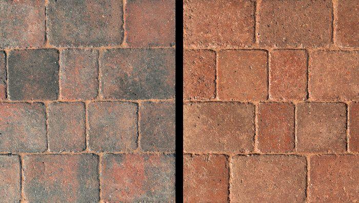 Jewsons Block Paving >> Drivesett Duo Block Paving In Cinder And Terracotta Patio