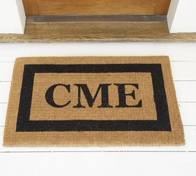 Personalized Framed Doormat Up To 8 Characters