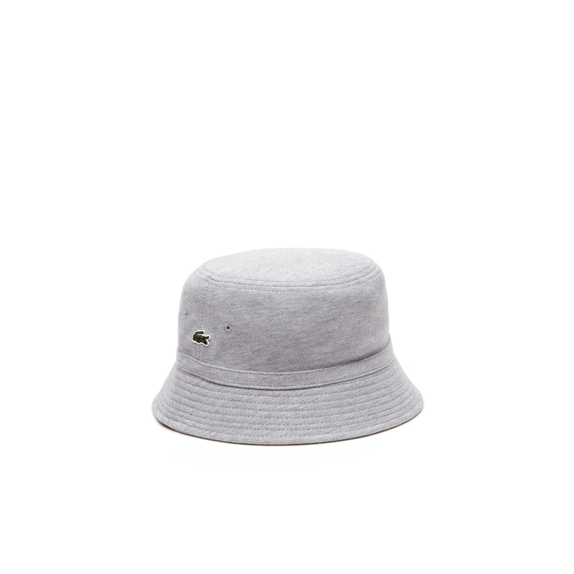 13ef954aac1 LACOSTE Men s Cotton piqué bucket hat.  lacoste