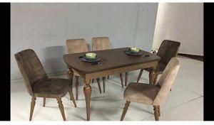 Inegol Acelya Masa Sandalye Yemek Masasi Mobilya