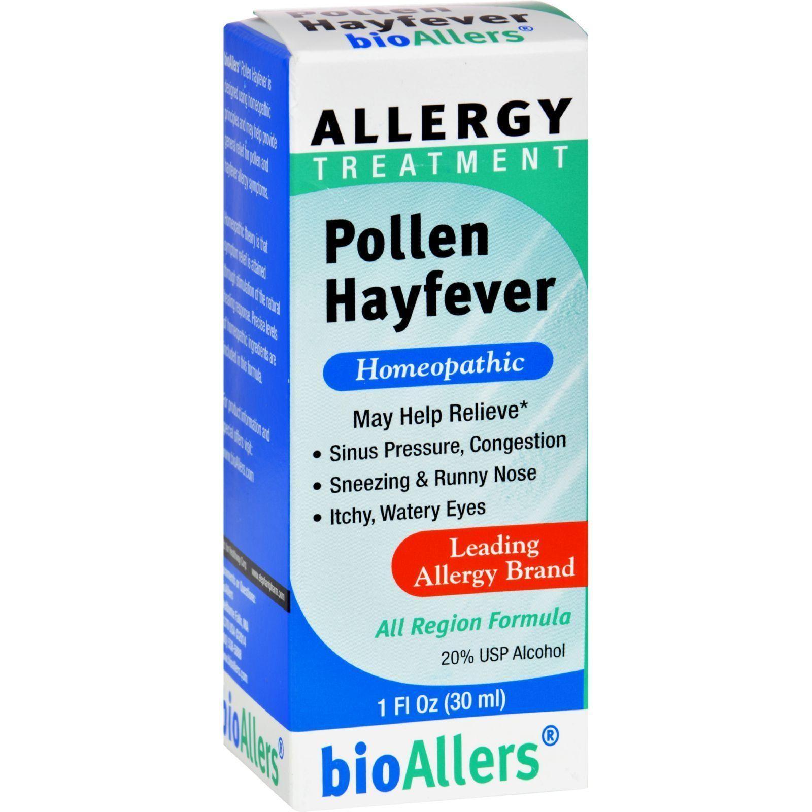 Bioallers Pollen Hay Fever 1 Oz Allergy treatment