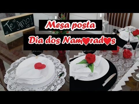 Mesa Posta - Dia dos Namorados | Mãe, Casei - YouTube