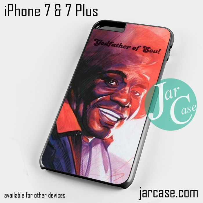 James Brown Godfather of soul Phone case for iPhone 7 and 7 Plus