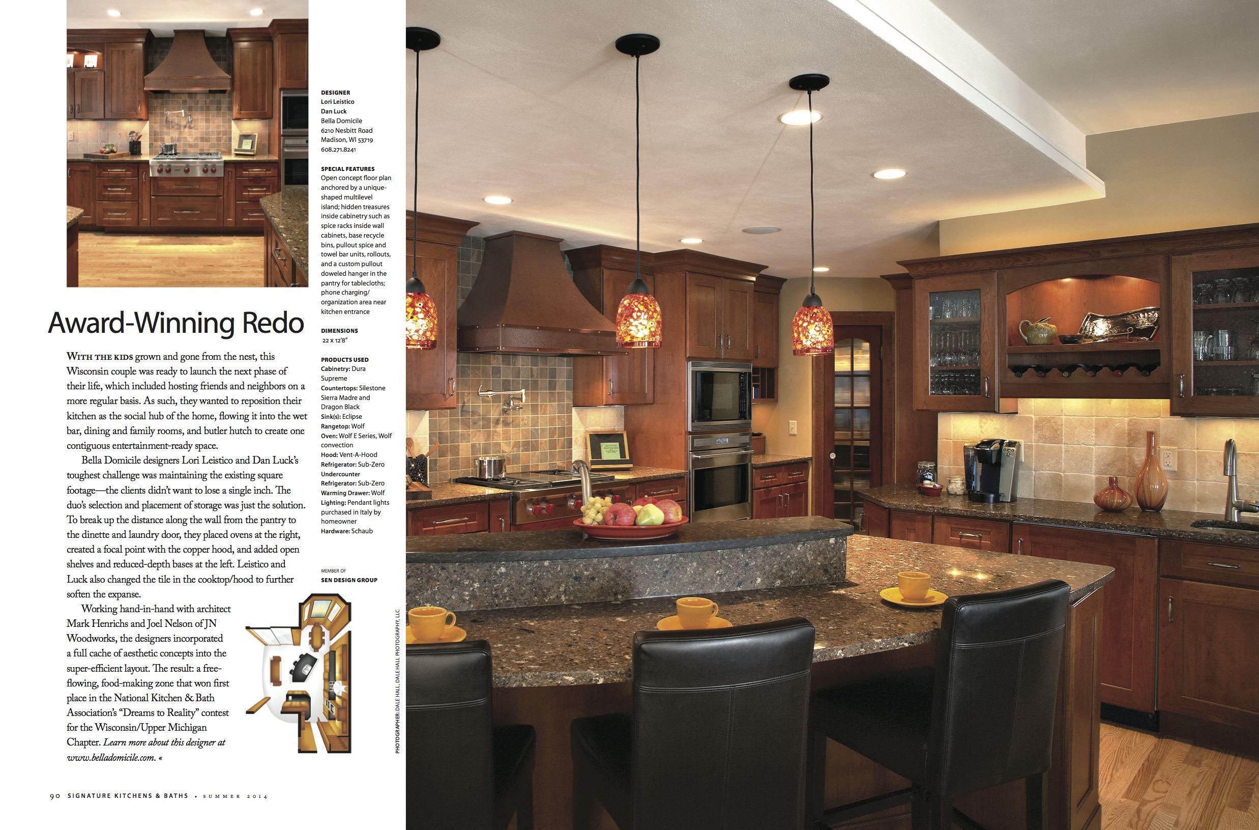 Award Winning Redo Www Belladomicile Com Traditional Design Kitchen Design
