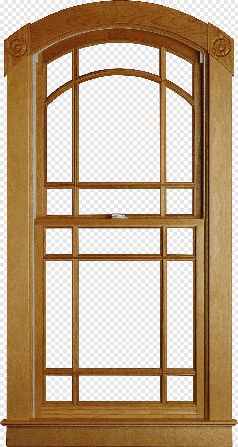 Brown Wooden Window Frame Illustration Window Interior Design Services House Home Wood Window Fre Wooden Window Frames Windows And Doors Wooden Window Design