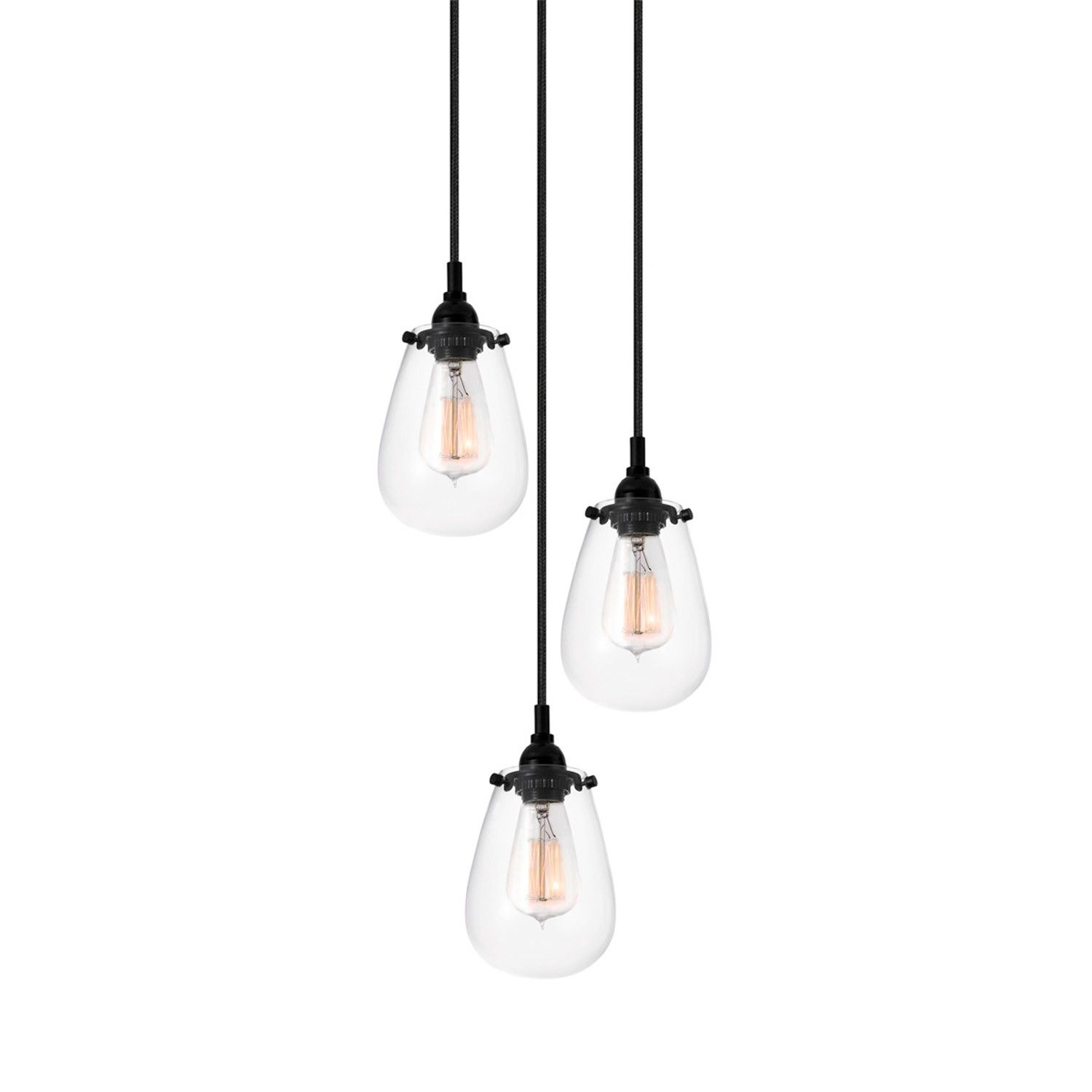 Chelsea 3 Light Cluster Pendant 이미지 포함