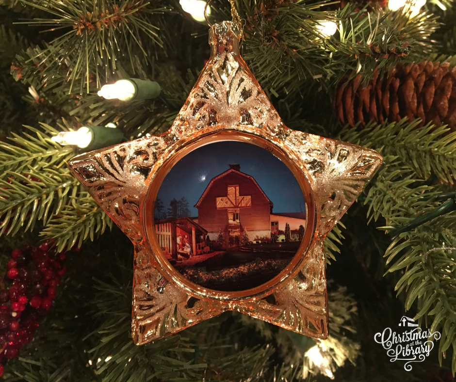 Christmas Ornaments available at Ruth's Attic in the Billy