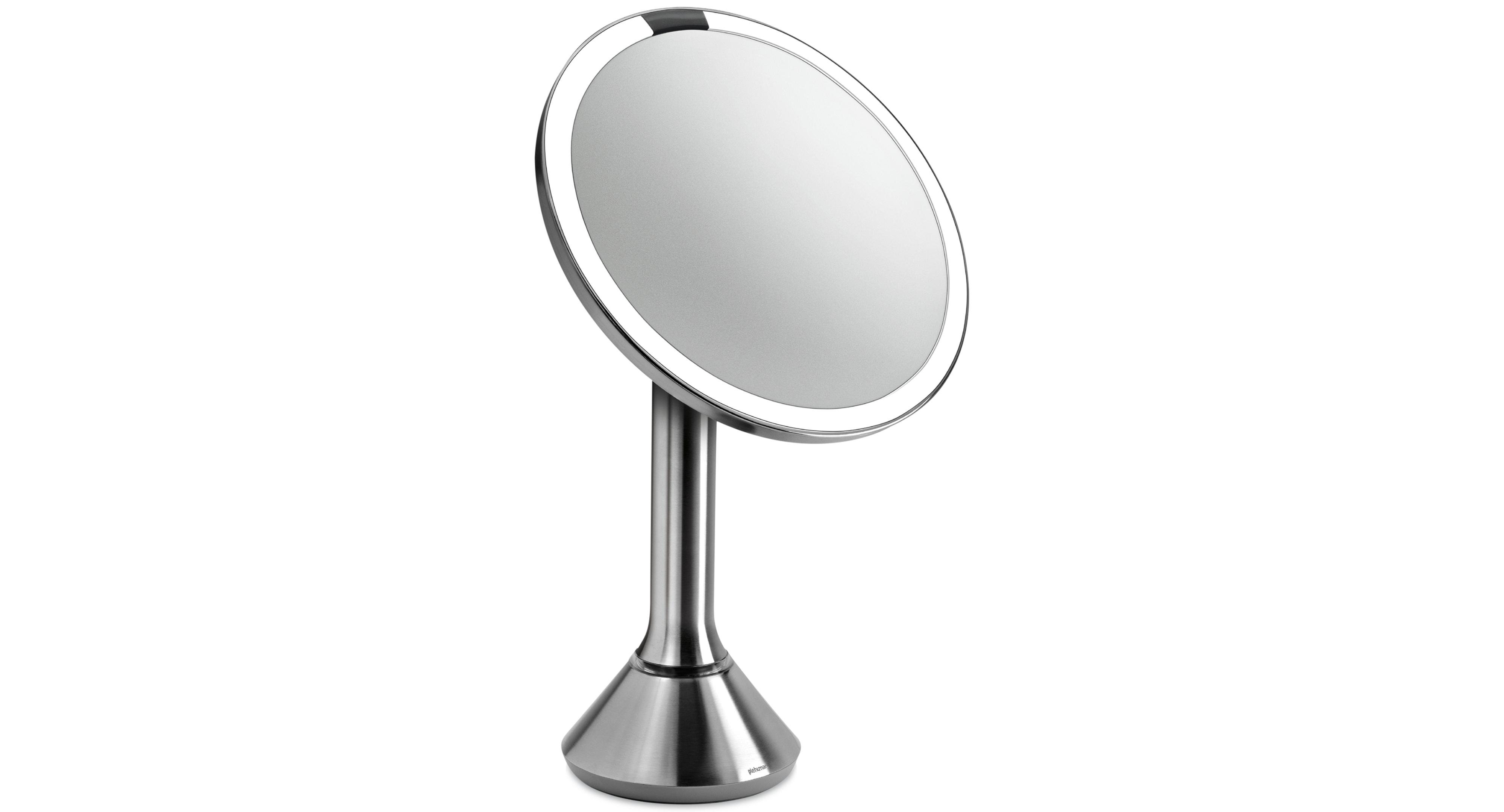 Simplehuman Eight Inch Sensor Makeup Mirror With Brightness