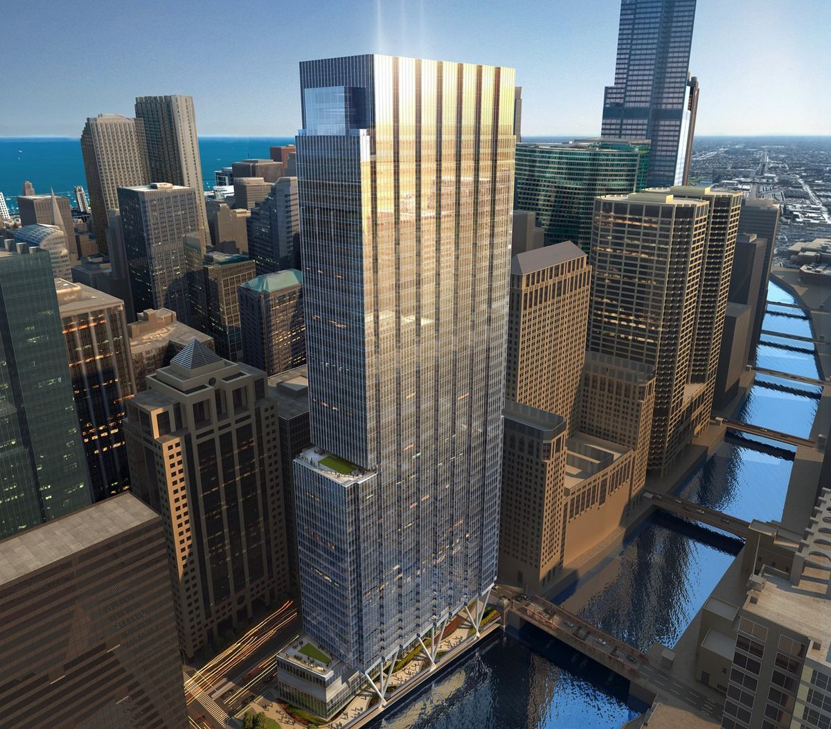 A Closer Look At The Skyscrapers Changing Chicago S Skyline