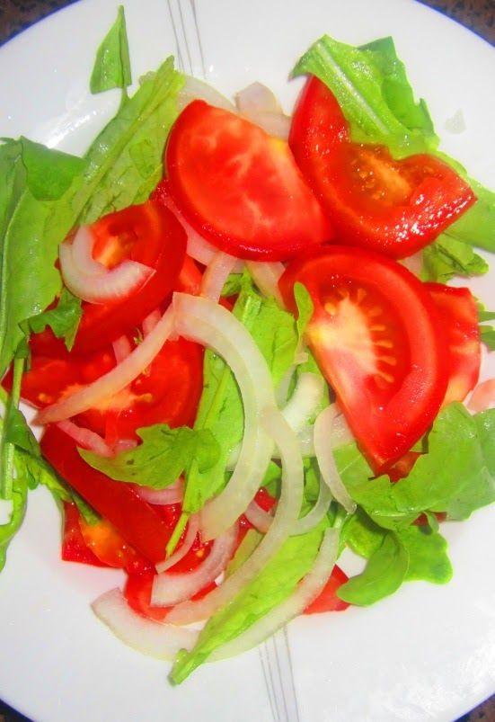 Create Every Day: Healthy and Simple Tomato Salad Recipe