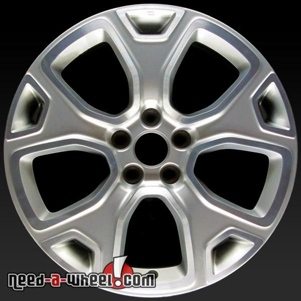 2015 2017 Jeep Renegade Oem Wheels For Sale 18 Machined Stock