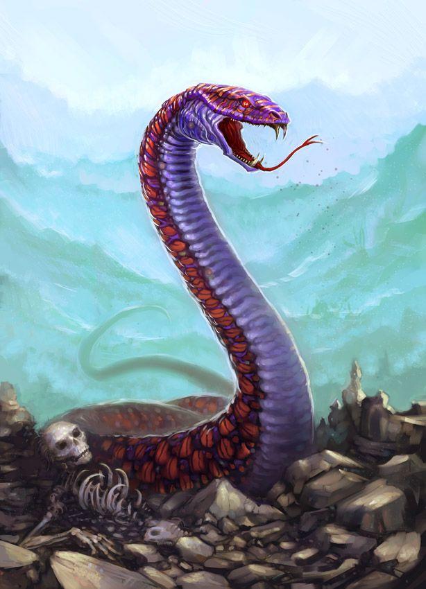 Giant+Snake+by+ScottPurdy.deviantart.com+on+@deviantART ... - photo#36