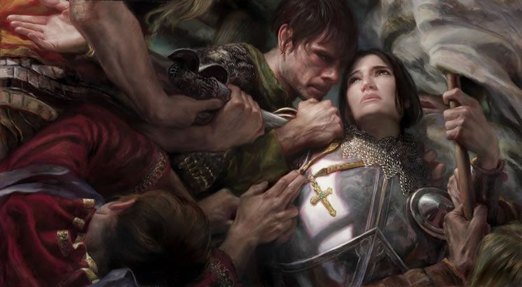 Painting Joan of Arc with Donato Giancola. one of the most moving pieces of modern  art. ever. | Joan of arc, Concept art world, Saint joan of arc